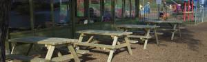 Wells Timber Products supply picnic benches for your local parks