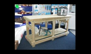 Custom Heavy Duty Workbench by Wells Timber Products