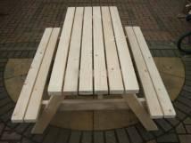 6 Seat Pub Garden Table | 6 seat Picnic Bench | 6 Seat Picnic Table