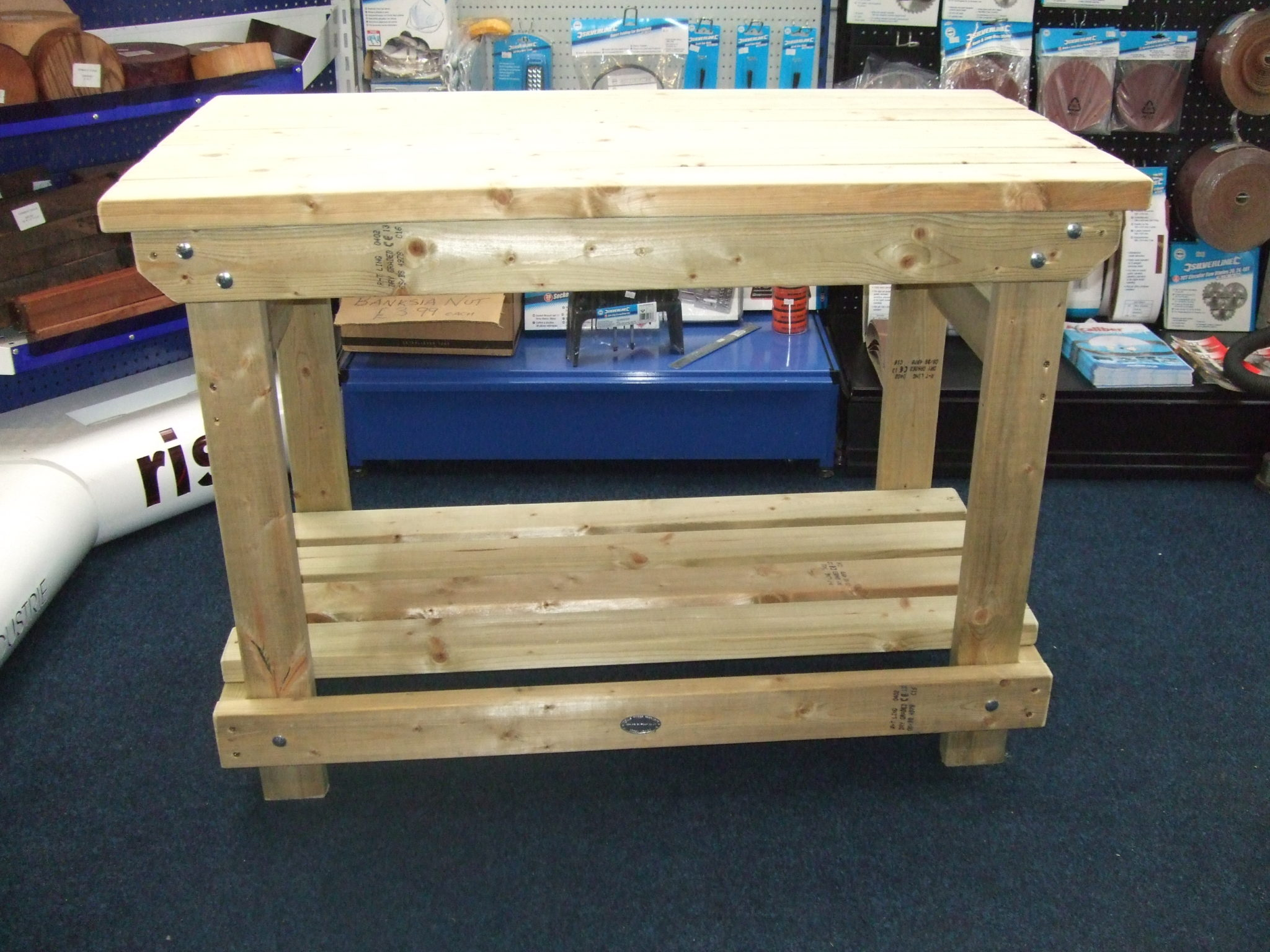 solid heavy duty workbench picnic benches pub garden
