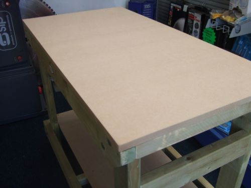 Tremendous Mdf Topped Heavy Duty Workbench Theyellowbook Wood Chair Design Ideas Theyellowbookinfo